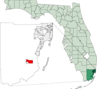 TREC in florida map